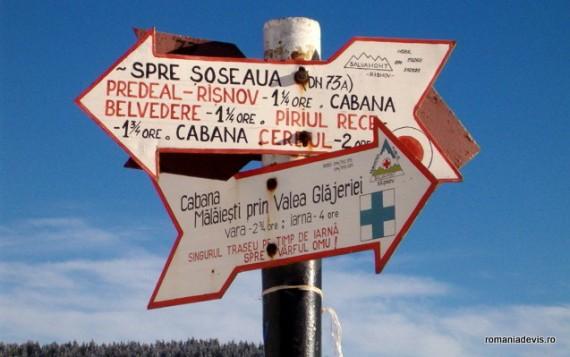 Tipul si semnificatia marcajelor de pe traseele turistice montane