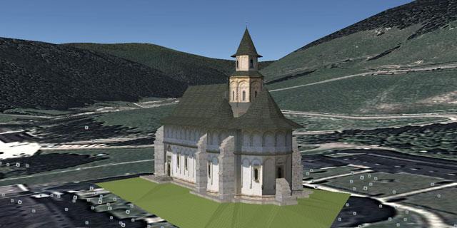 Putna - Biserica manastirii