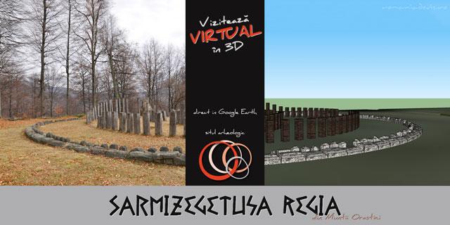 Sarmizegetusa Regia in 3D