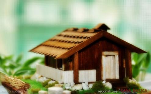 Casa dacica - Gradistea Muncelului