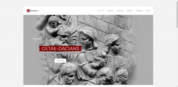 dacians.romaniadevis.ro - site dedicat